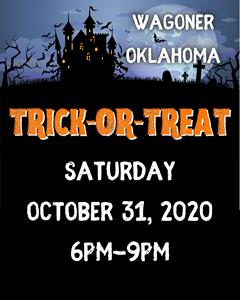 Trick or Treat times set