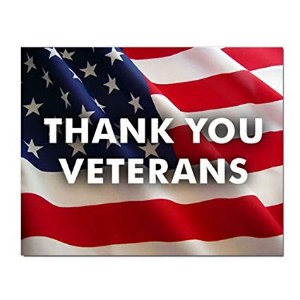 City Offices Closed- Veterans Day-Veterans Ceremony Scheduled