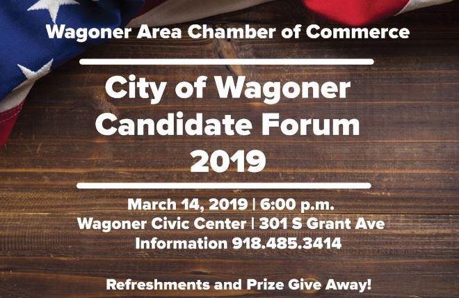 Candidate Forum presented by Chamber of Commerce